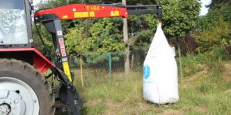 Навесной погрузчик T466 для мешков типу Биг-Бег(BIG-BAG), фото