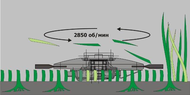 фото Схема работы ротора